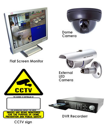 CCTV or DVR Survelliance Systems